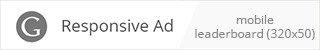 AdSense Mobile Leaderboard Ad example
